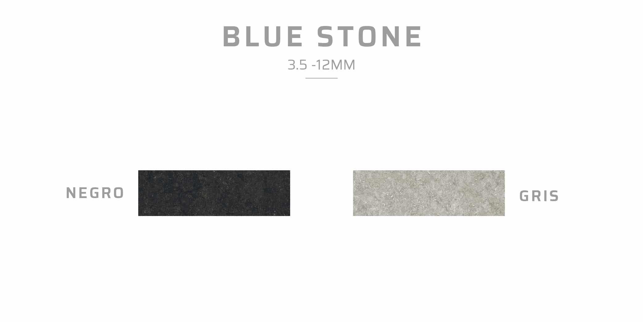 porcelain cladding blue stone