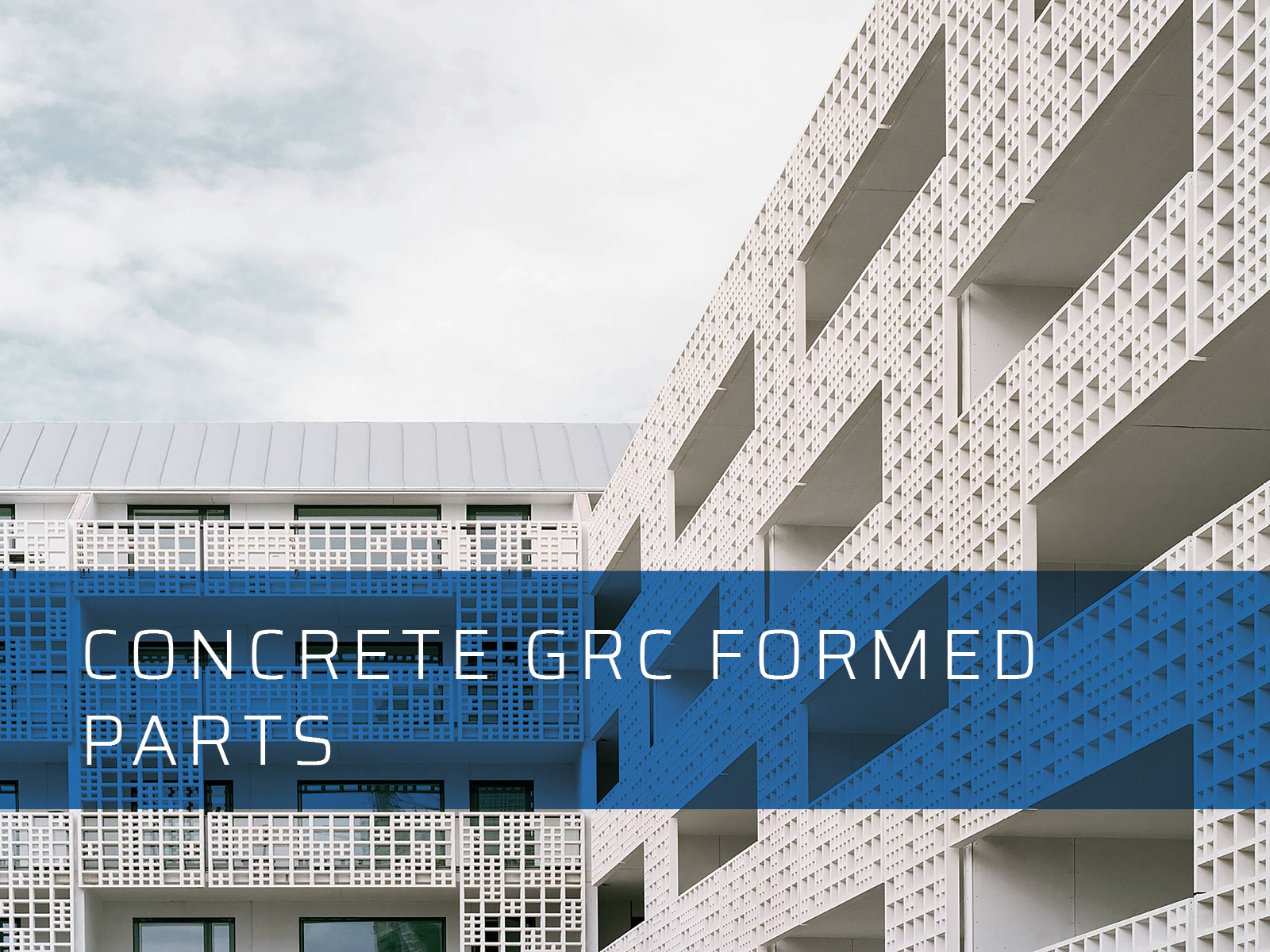 Concrete GRC Formed Parts - Dalply