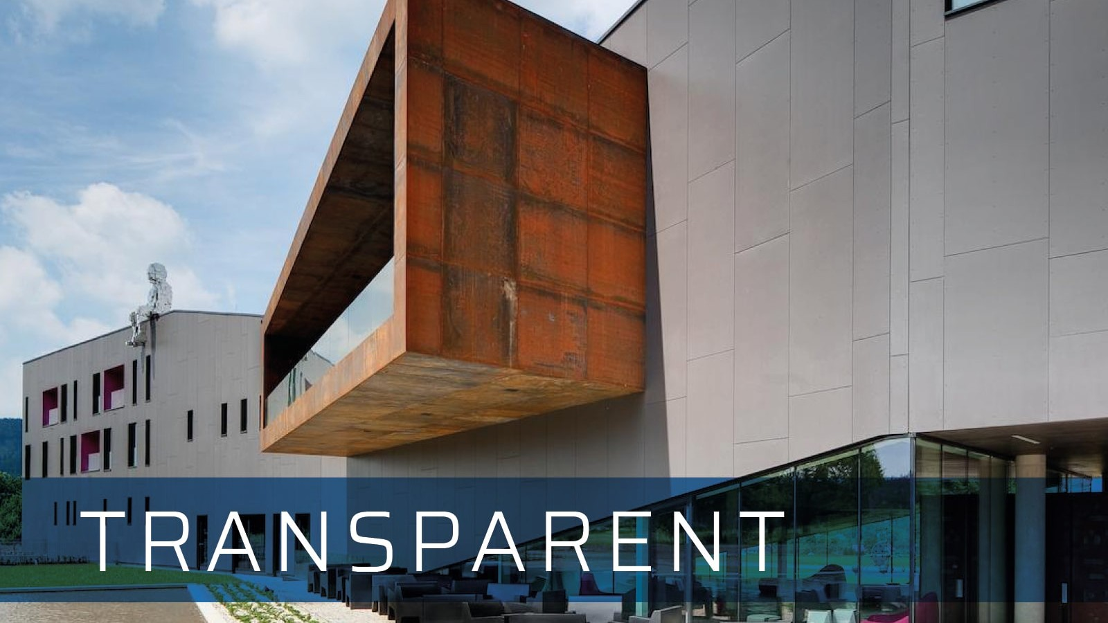 fibre cement cladding transparent
