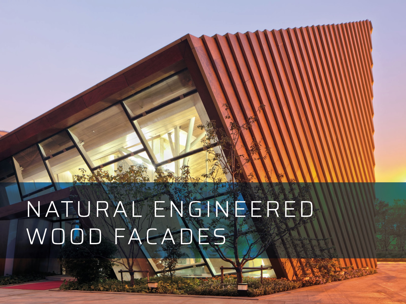Natural Engineered Wood Facades Dalply
