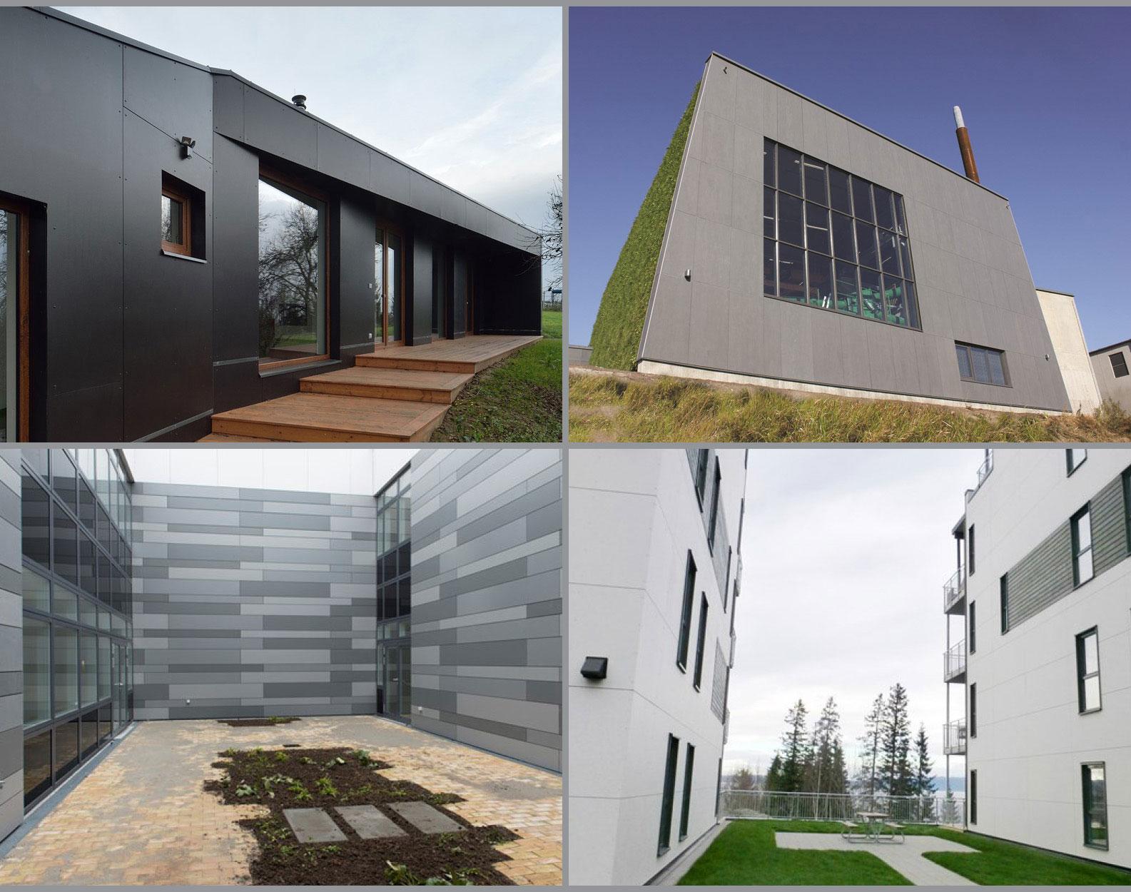fibre cement cladding examples