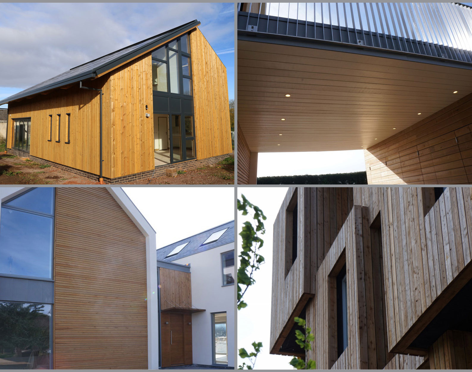timber cladding examples