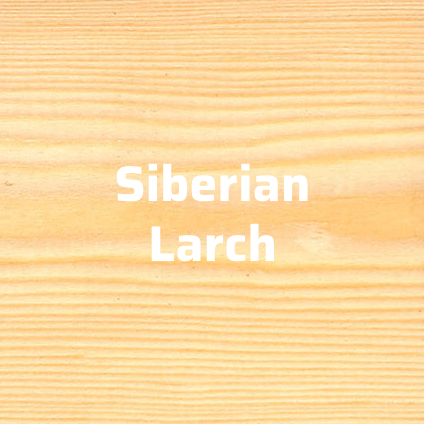 siberian larch timber cladding