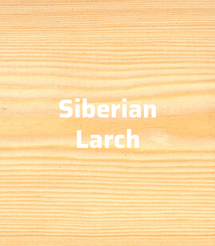 siberian larch timber cladding